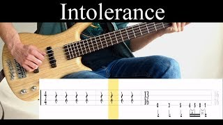 Intolerance Tool - Bass Cover With Tabs by Leo Dzey