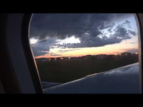 Lądowanie w Moskwie,Landing in Moscow Sheremetyevo International Airport