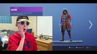 **NEW** CASTOR + ELMIRA NEW SKINS!!! FORTNITE ITEM SHOP NOVEMBER 16, 2018