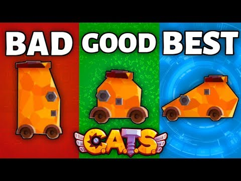 RANKING EVERY *BODY* IN C.A.T.S FROM WORST TO BEST - Top 8 Bodies Crash Arena Turbo Stars