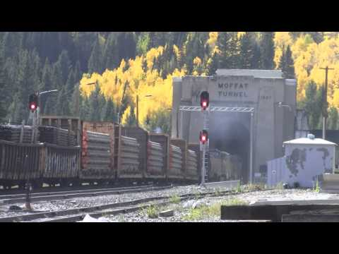 Moffat Tunnel westbound Union Pacific