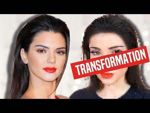 TRANSFORMATION: Kendall Jenner