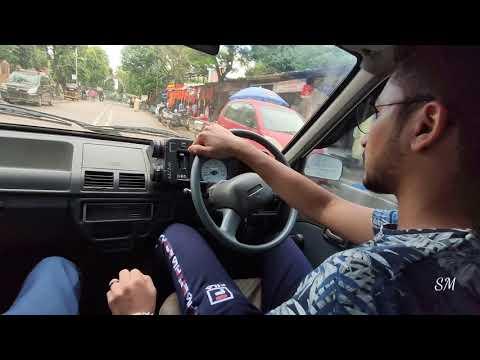 Driving Maruti 800 In  Mumbai