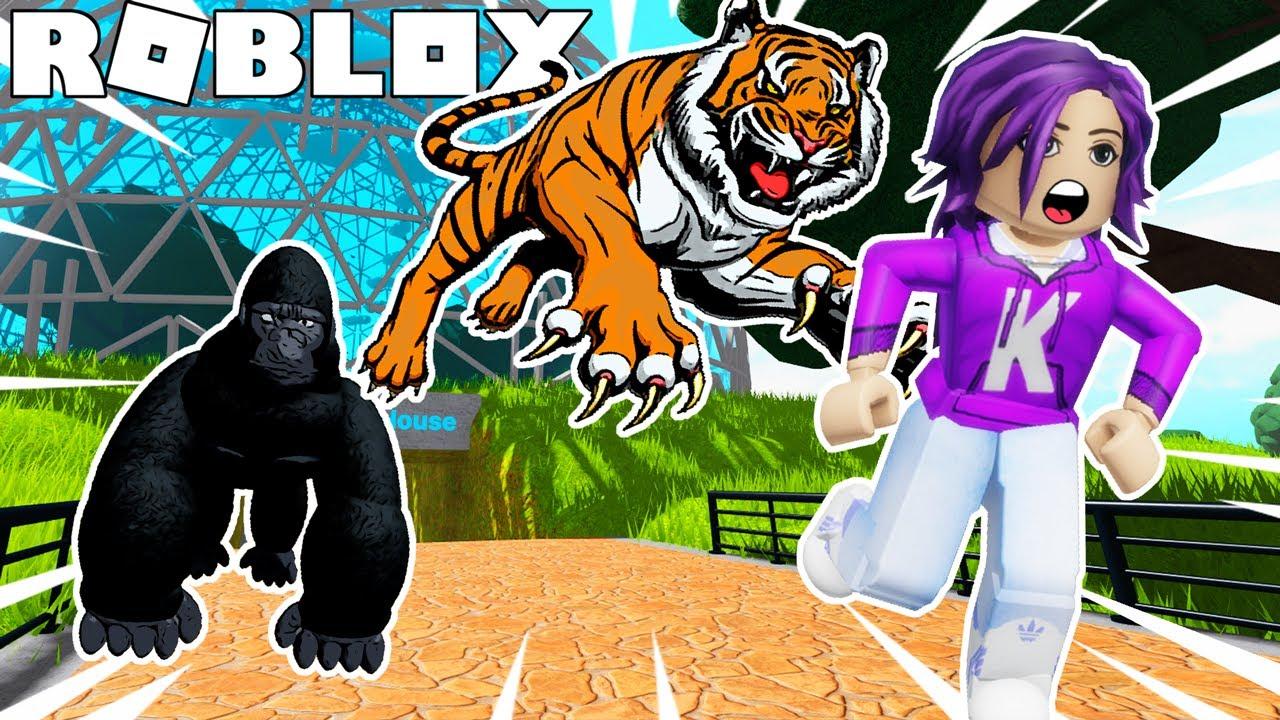 The animals have escaped! | Roblox: Escape the Zoo Obby!