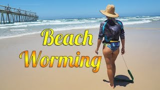 Beach Worming - how to catch beach worms
