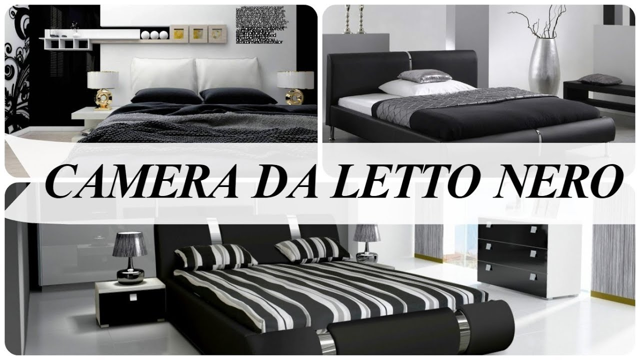 Camera da letto nero - YouTube
