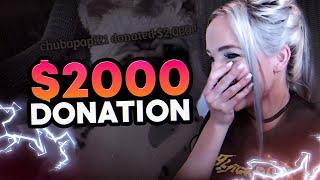 REACTION TO CHUBAPAPI21 DONATION ON TWITCHTV