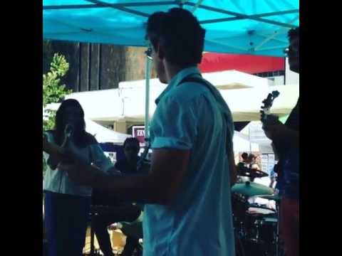 Melrose Music Sundays - The Vibrometers -  2016 at the Melrose Trading Post