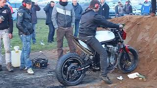 24 heures du Mans moto 2016 Camping Bleu La vie des motards. WELLCOME TO HELL