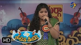 Telusuna Telusuna Song - Adhithi Performance in ETV Padutha Theeyaga - 25th April 2016