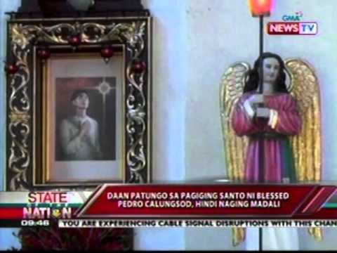SONA: Archdiocese of Cebu, todo-paghanga sa Canonization kay blessed Pedro Calungsod