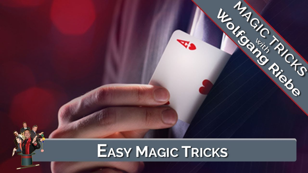 how to learn easy magic tricks