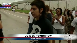 FNN: Pittsburgh Protests; President cabinet meeting, working lunch; First Lady visits border