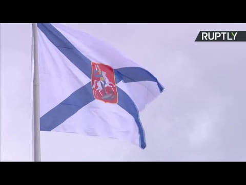 Russia Navy Day Parade in St. Petersburg