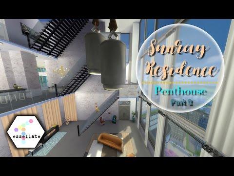 PENTHOUSE [2/3] // Stedelijk Leven || Sims 4 Speed Build (Nederlands)