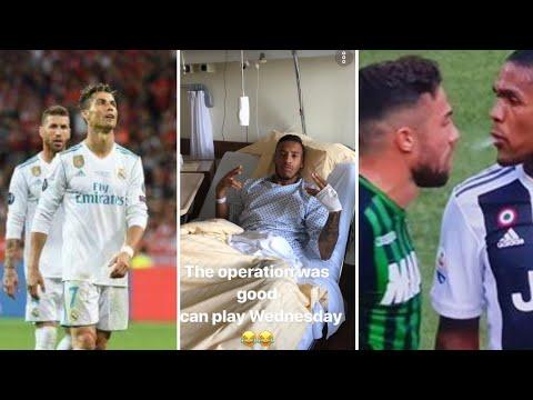 Blague de Tolisso apres son opération.Ronaldo unfollow ramos et carvajal. Excuses de Douglas Costa.