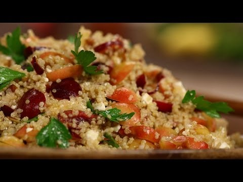 Quinoa Salad With Cherries | Healthy Recipes | Food How To