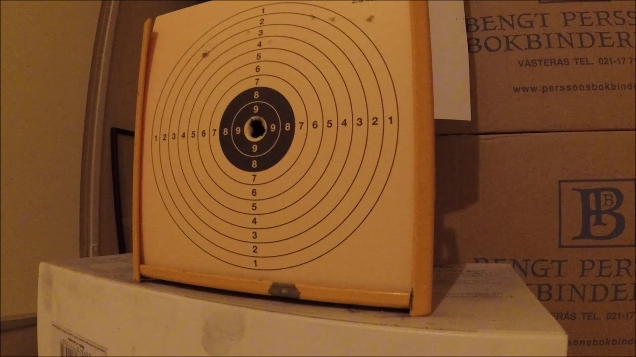 FX Crown  25 accuracy test