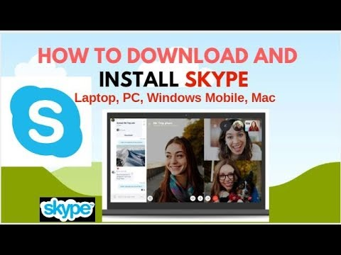 How To Download, Install Skype Free Audio/Video Calling And Chat || Your Laptop, Pc Or Mobile