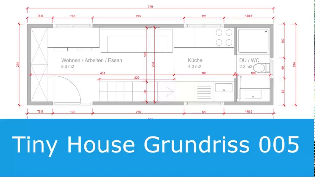 Tiny House Grundriss 005 Youtube