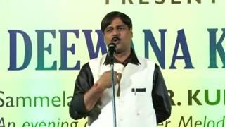 Kavi Vineet Chauhan in Pune Kavi Sammelan