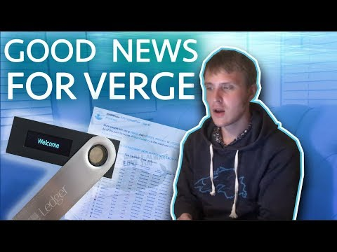 @XVGWhaleReal Vlog: Data Shows XVG Is Most Used Privacy Coin + Verge Ledger Update