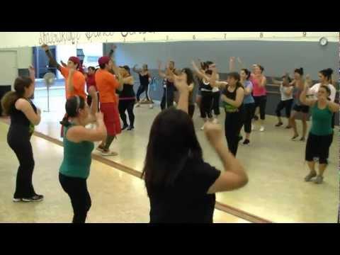 Remember - Eddy Herrera - Merengue Fitness W Bradley And Michael - Crazy Sock TV