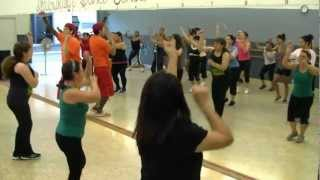 Remember - Eddy Herrera - Merengue Fitness W Bradley and Michael - Crazy Sock TV