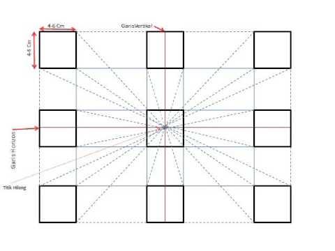 Cara Menggambar Kubus 3 Dimensi - YouTube