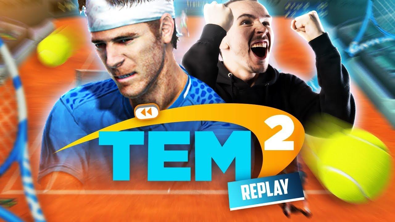 On COACH une petite pépite du TENNIS ! #1 ►Tennis Elbow Manager 2