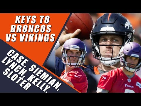 Denver Broncos Vs Minnesota Vikings: What To Watch