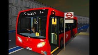 ROBLOX | London & South Bus Simulator V7.1 | Route 24: Pimlico to Trafalgar Square