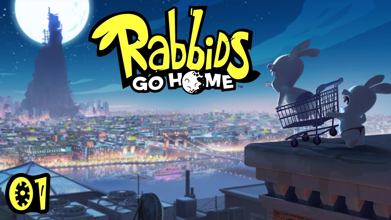 Raving Rabbids Go Home Ds