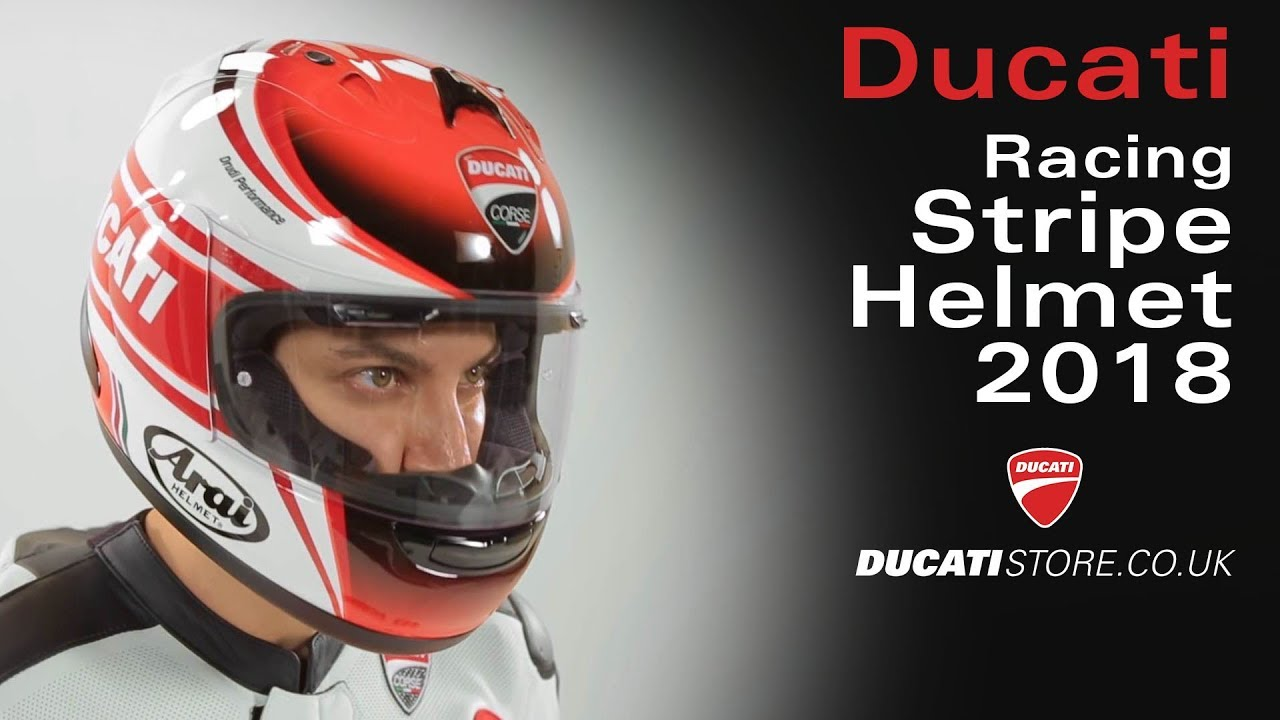 Ducati Racing Stripe Helmet 2018 Youtube