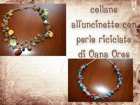 Collana Con Perle Fantasia Alluncinetto Youtube