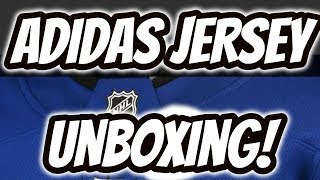 UNBOXING A *BRAND NEW* ADIDAS NHL JERSEY!   Auddie James