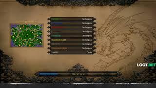 Warcraft III FFA Все В Сборе Дред, Майкер, НС, Кейк, Факер