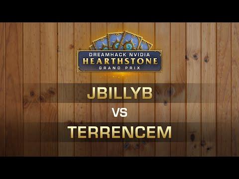 HS - JBillyB vs TerrenceM - Semi-finals - Hearthstone Grand Prix DreamHack Austin