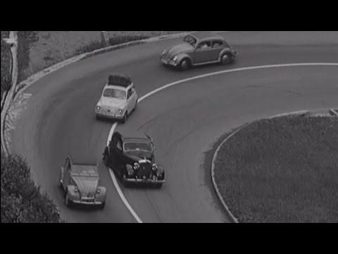 Ferienverkehr auf dem Gotthard (1963)