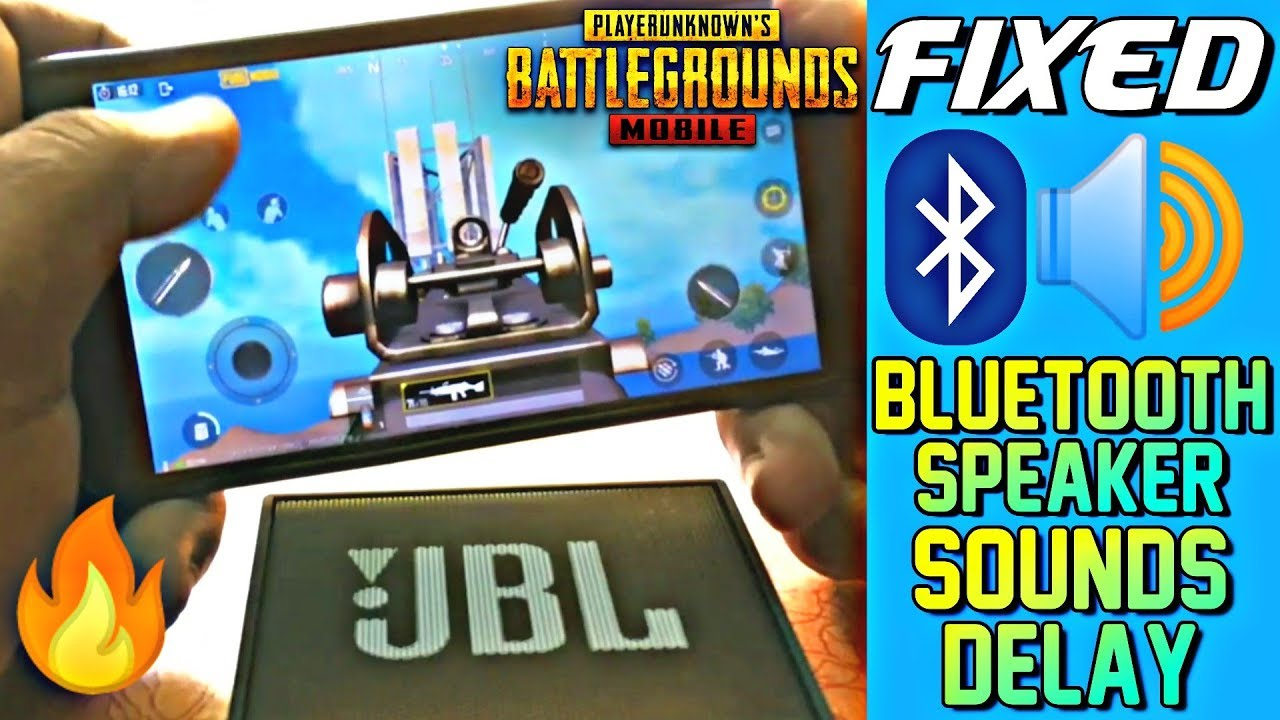 Fix: PUBG Mobile Bluetooth Speaker Sounds Delay Problem Solved🔥🔥
