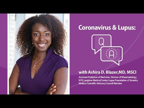 Coronavirus And Lupus - Update March 20, 2020