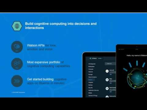 IBM Watson - Cognitive Computing