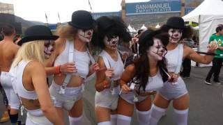 Clockwork Orange Clowns   Escape from Wonderland San Bernardino, Ca - October 26th, 2013
