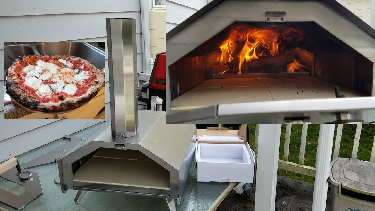 Uuni Pro Pizza Oven Review Firewood