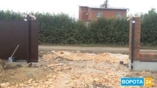 видео Секционные ворота + автоматический привод = скидка -90 евро