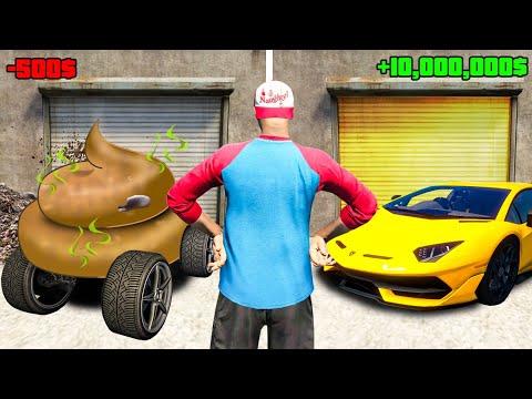 Ich KAUFE eine ZUFÄLLIGE GARAGE in GTA 5 RP!