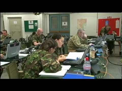 The art of being a signaller and soldier 29.03.12