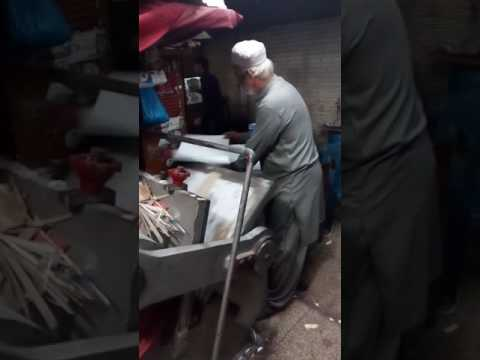 Die Cutting Creasing Machine Made In Pakistan -
