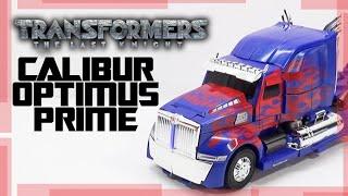 Calibur Optimus Prime TLK Revisão em Português