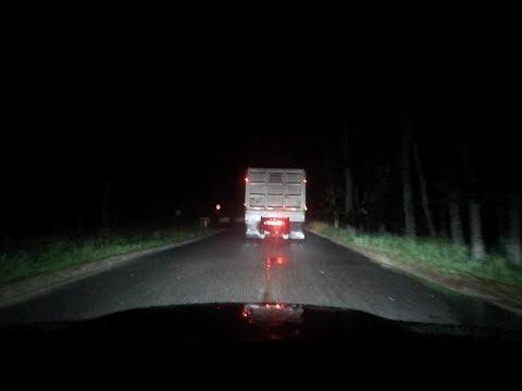 we followed the trucks on clinton road...